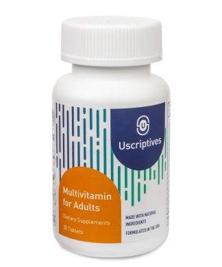 multivitamin for adults - 30 count