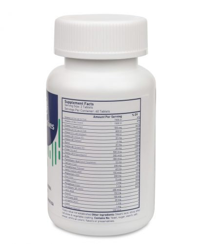 best multivitamin for diabetics nutritional facts - 60 count