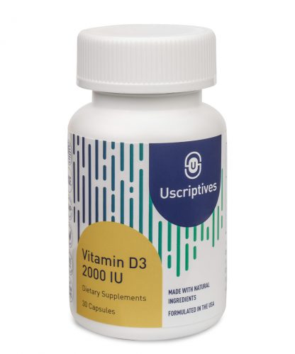 vitamin d3 supplement 2000 iu - 30 count