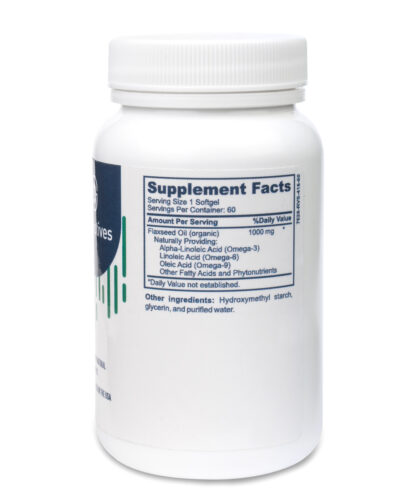 vegan omega 3 supplements nutritional facts - 60 count